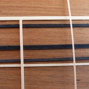 Veneer Inlays / Veneer Motifs / Beech & Black Stringing