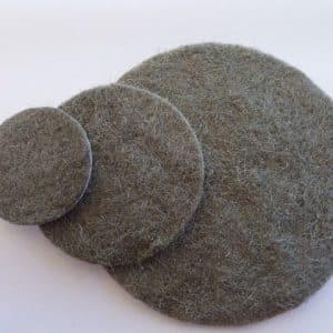 Woodworkers Steelwool - Hook and Loop Discs