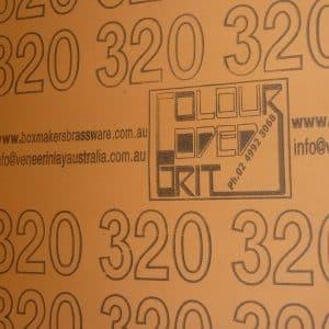 320 grit 5m x 300mm