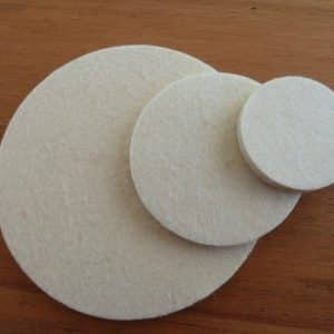 Polishing Pads 150mm - Hardware for Creative Finishes - Veneer Inlay Australia