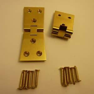 Counterflap Dovetail Hinges Solid Brass