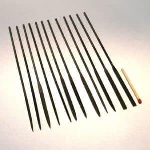 12-Piece fine Needle File Set