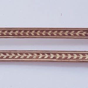 Veneer Inlay Lengths - 2 Lengths A2058a