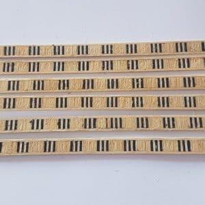 Veneer Inlay Lengths - 6 Lengths A2020