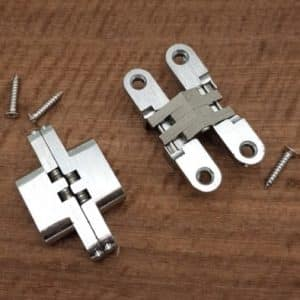 Invisible Hinges Stainless Steel/Alloy 13mm x 60mm