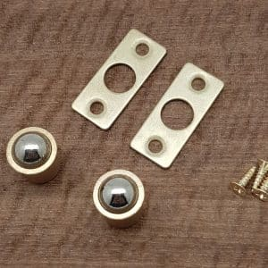 Single Ball Catches 8mm - Hardware for Creative Finishes - Veneer Inlay Australia