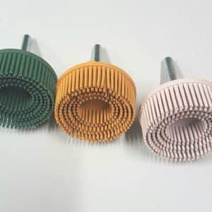 3 50mm Bristle Sander Abrasive Set