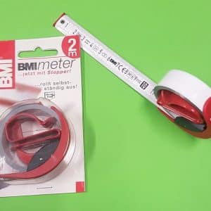 Quick Pro Rollable 2 meter Tape Measure